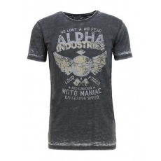 Alpha Industries HELLRACER T - fekete