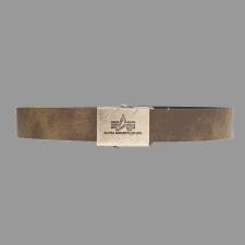 Alpha Industries Leather Belt férfi ruházati kiegészítő