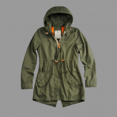 Alpha Industries Light Weight Fishtail Női - olive