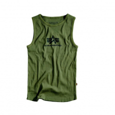 Alpha Industries Logo Tank - olive/fekete