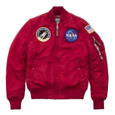 Alpha Industries MA-1 VF NASA Női - speed red