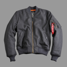 Alpha Industries MA-1 Wool - sötét szürke