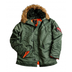 Alpha Industries N3B VF 59 Női - sage green