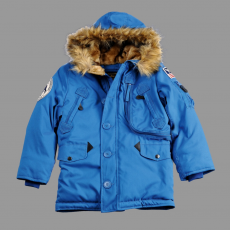 Alpha Industries Polar Jacket Kids - royal kék