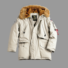 Alpha Industries Polar Jacket - tört fehér