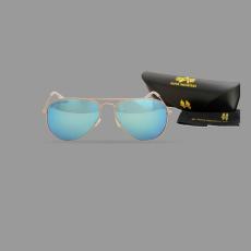 Alpha Industries Top Gun M napszemüveg - arany/kék