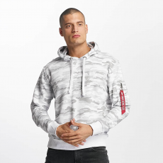 Alpha Industries X-Fit Hoody - white camo