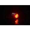 Alphacool Aurora HardTube LED gyűrű 13 mm-es króm - Piros /15328/