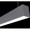 Aluminium profil eloxált (ALP-052) LED szalaghoz, opál