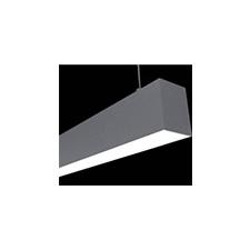 Aluminium profil eloxált (ALP-052) LED szalaghoz, opál világítási kellék
