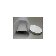 Aluminium profil eloxált (ALP-6060) LED szalaghoz, opál villanyszerelés