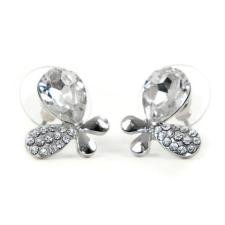 Alysa Swarovski kristályos fülbevaló - Áttetsző Pillangó fülbevaló