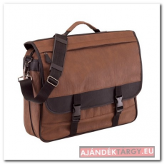 Ambassador  táska, barna/fekete