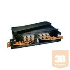 """AMP ATDU Panel, 2U, 19"""", 4db MPO Snap-in kazetta részére (559542-2) egyéb hálózati eszköz"""