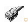 AMP RJ-45 dugasz, 8/8, árnyékolt, sodrott 24-28AWG vezetékhez (5-569532-3)