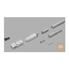 AMP SC LightCrimp Plus csatlakozó - MM duplex 50/125µ, fekete (6278080-2) egyéb hálózati eszköz