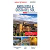 Andalúzia és Costa del Sol laminált térkép - Insight
