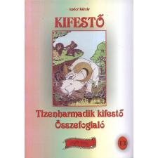 Andor Károly Tizenharmadik kifestő összefoglaló kréta, festék és papír