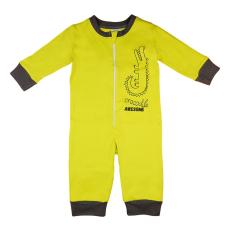 Andrea Kft. Krokodilos overálos pizsama 98 Zöld