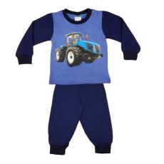 Andrea Kft. Traktor mintás fiú hosszú pizsama 20352902098
