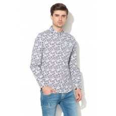 Andy Warhol by Pepe Jeans , James mintás ing, Fehér, S (AM300120-800-S)