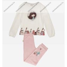 Anekke gyermek pizsama szett, bézs-rózsaszín, 5-6 év (RH7468) hálóing, pizsama
