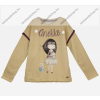 Anekke gyermek pulóver, világosbarna, 11-12 év (RH6140)