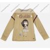Anekke gyermek pulóver, világosbarna, 13-14 év (RH6140)