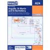 Anguilla, St Martin and St Barthélémy Chart A24 - Imray