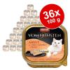 Animonda 36x100g Animonda vom Feinsten Adult ízletes töltelékkel nedves macskatáp-Pulyka, csirkemell & gyógynövények