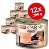 Animonda Carny Kitten 12 x 200 g - Mix: szárnyaskoktél + marha & pulykaszív