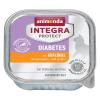 Animonda Integra 6x100g Animonda INTEGRA Protect Adult Diabetes tálcás nedves macskatáp-lazac