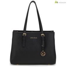 Anna Grace fekete színű női divat táska 2018-as modell