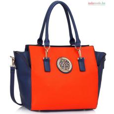 Anna Grace Női táska kék és narancssárga