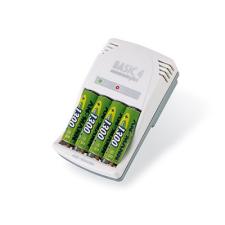 Ansmann Basic 4 Plus elem és akkumulátor