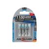 Ansmann Micro AAA - 4db tölthető elem AAA NiMH1,2V/1050mAh