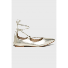 ANSWEAR - Balerina Lily Shoes - arany - 1359019-arany