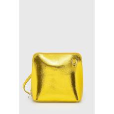 ANSWEAR - Bőr kézitáska - sárga - 1349486-sárga