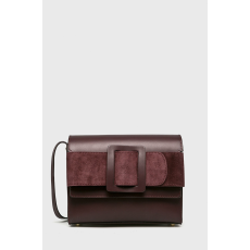 ANSWEAR - Bőr táska Heritage - gesztenyebarna - 1464070-gesztenyebarna