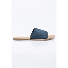 ANSWEAR - Papucs Leather Collection - sötétkék - 1240707-sötétkék