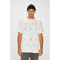 ANSWEAR - T-shirt Manifest your style - fehér - 1417067-fehér