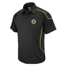 Antigua Boston Bruins póló Team Flux black - M