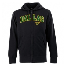 Antigua Dallas Stars fĂŠrfi kapucnis pulóver black Zip - XL