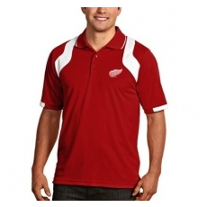 Antigua Detroit Red Wings pólóing Red Fusion Polo - L