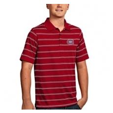 Antigua Montreal Canadiens pólóing red Deluxe Polo - M