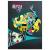 Apis Monster High: 3. osztályos vonalas füzet - A5, 12-32