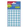APLI 19 mm kör kézzel írható kék színű etikett (100 etikett/csomag)