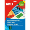 APLI 210x297 mm zöld Etikett (100 lap)