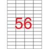 APLI 52,5x21,2 mm, eltávolítható univerzális Etikett (100 lap)
