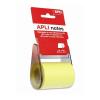 APLI 60 mm x 10 m sárga öntapadó jegyzetpapír tekercsben